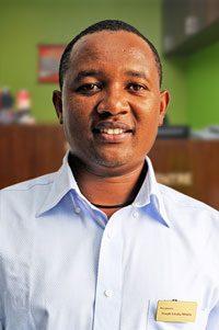 Joseph Kinaka Mbithi<br /> Receptionist