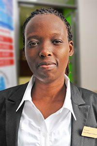 Susan Wangeci Gathegu<br /> Receptionist